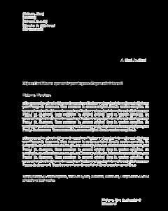 Lettre de motivation à un poste d'agent administratif