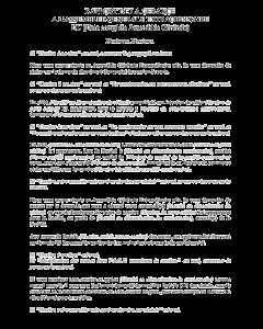 Modèle de rapport de gérance relatif à une cession de parts
